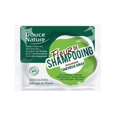 Fleur de shampooing cheveux gras - Douce Nature - Cheveux