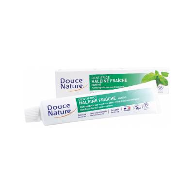 Dentifrice menthe - Douce Nature - Hygiene