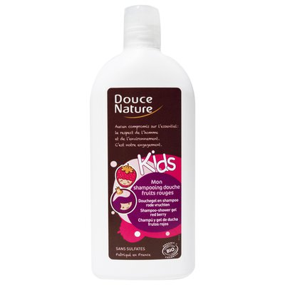 Mon shampooing douche fruits rouges - Douce Nature - Cheveux
