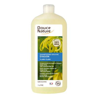 Shampooing douche évasion ylang ylang - Douce Nature - Cheveux