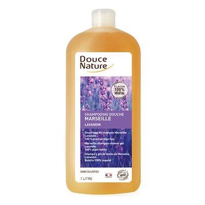 Shampooing douche marseille lavandin - Douce Nature - Cheveux