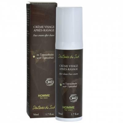 Crème visage après-rasage Homme - Senteurs du Sud - Hygiène
