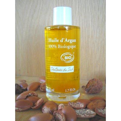 Huile d'Argan 100% Pure - Senteurs du Sud - Massage et détente