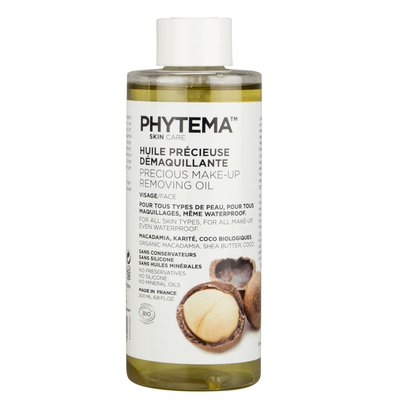 Precious Makeup removal Oil - PHYTEMA Skin care - Face