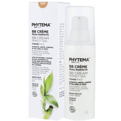 BB crème - Nuance 02 - Beige Hâlé - PHYTEMA Skin care - Visage - Maquillage