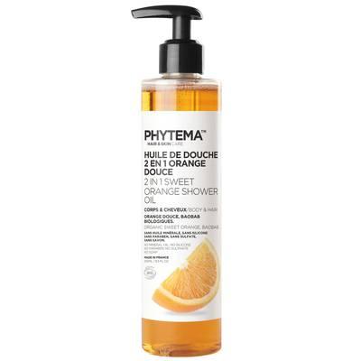 Sweet Orange Shower Oil 2in1 - PHYTEMA Skin care - Hygiene