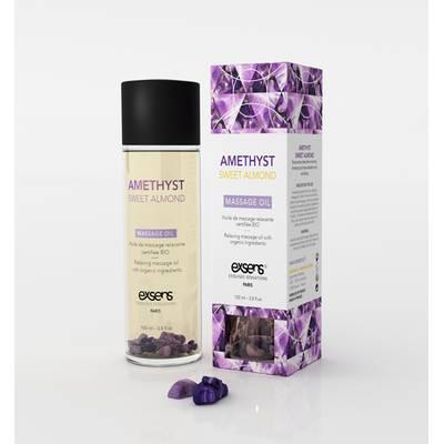 Huile de massage Amethyste Amande douce - Exsens - Massage et détente