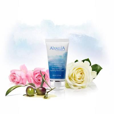 AIXALLIA Crème mains hydratante à l'olive et rose - Aixallia - Body