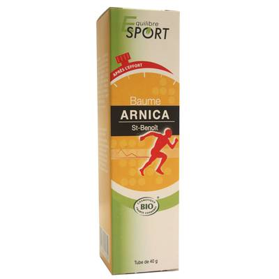 Baume Arnica - Equilibre Sport - Corps