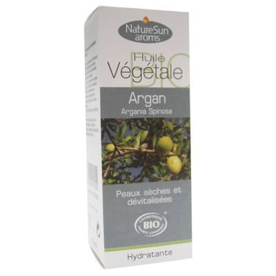 Huile végétale d'Argan - Natur Sun Aroms - Visage