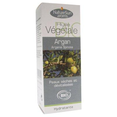 Huile végétale d'Argan - NatureSun Aroms - Visage