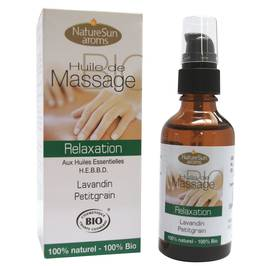 Relax massage oil - Natur Sun Aroms - Massage and relaxation