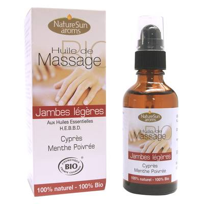 Light legs massage oil - Natur Sun Aroms - Massage and relaxation