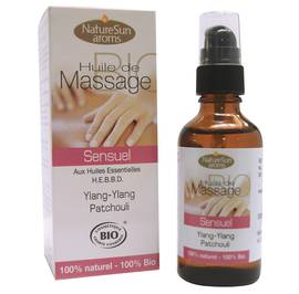 Sensual massage oil - Natur Sun Aroms - Massage and relaxation