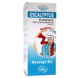 image produit Escalyptus massage oil