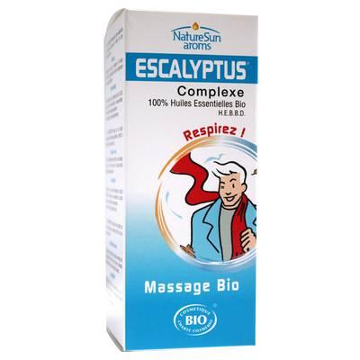 Huile de massage Escalyptus - Natur Sun Aroms - Massage et détente