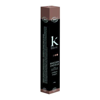 Mascara cheveux ton sur ton brun - K POUR KARITE - Cheveux