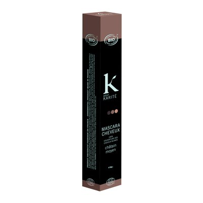 HAIR MASCARA MEDIUM BROWN - K POUR KARITE - Hair