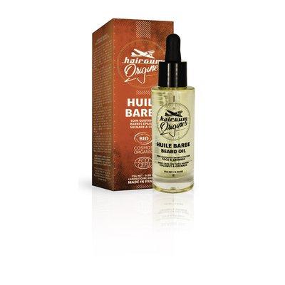 Huile barbe & cheveux - HAIRGUM ORIGINES - Visage - Hygiène - Cheveux - Massage et détente
