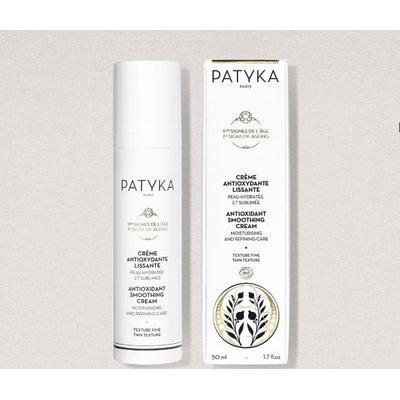 Crème Antioxydante Lissante - Texture Fine - Patyka - Visage