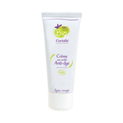 Crème aux actifs anti-âge - Coriolis - Visage