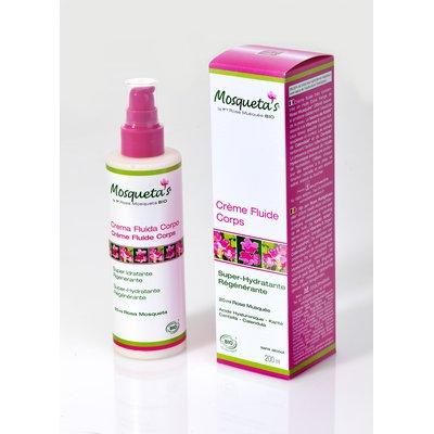 Fluide body cream 200ml - Mosqueta's - Body