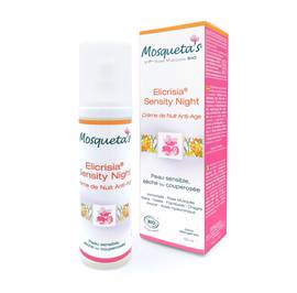 Elicrisia Sensity Night crème de nuit anti-age - Mosqueta's - Visage