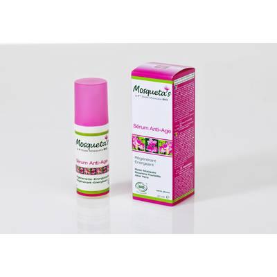 Sérum anti-age régénérant energisant 30ml - Mosqueta's - Visage