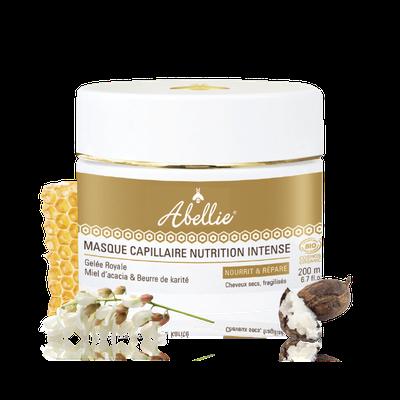 Masque Capillaire Nutrition Intense - Abellie - Cheveux