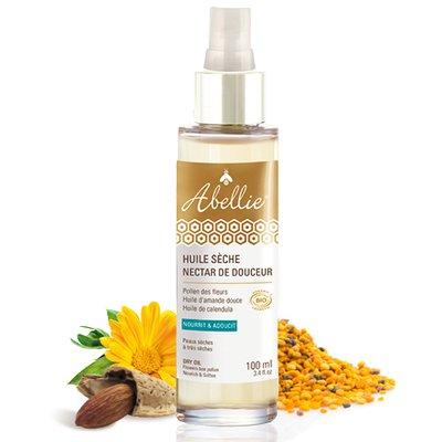 Huile sèche nectar de douceur® - Abellie - Massage et détente