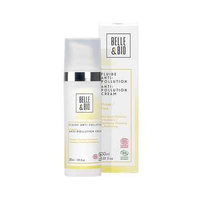 Fluide Anti-Pollution - BELLE & BIO - Visage