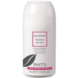 Deodorant Fresh Green Tea Roll on - Phyt's - Hygiene