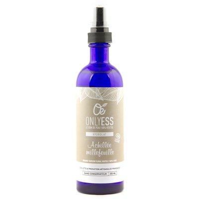 Hydrolat d'Achillée millefeuille 100% pur - ONLYESS - Visage - Hygiène - Cheveux - Ingrédients diy
