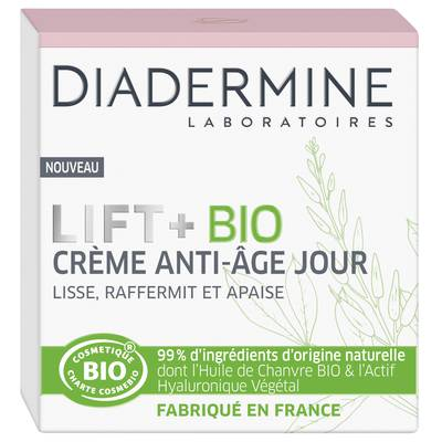 Anti-age Day Cream - Diadermine Lift+ Bio - Face
