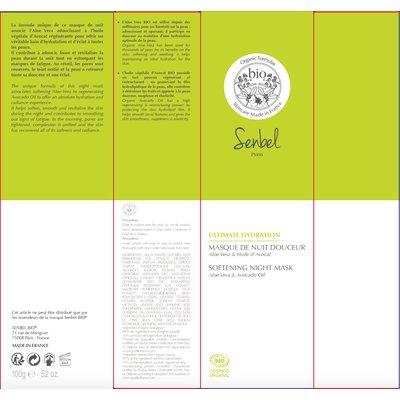 Masque De Nuit Douceur - Senbel Bio - Visage