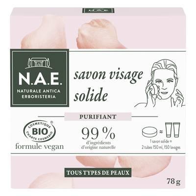 savon visage solide 78g - N.A.E. - Hygiène