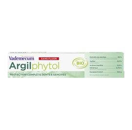 dentifrice Argilphytol - Vademecum - Hygiène