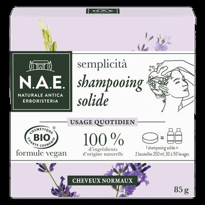 semplicita Shampooing solide usage quotidien - Cheveux normaux - N.A.E. - Cheveux
