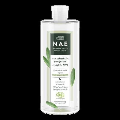 eau micellaire purifiante - N.A.E. - Visage