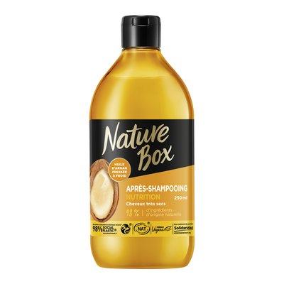Après-Shampooing Nutrition (à l'huile d'argan) - Cheveux très secs (Flacon 250ml) - Nature Box - Cheveux