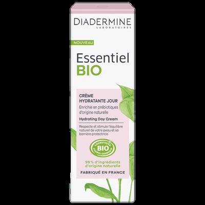 crème hydratante jour - Diadermine Essentiel Bio - Visage