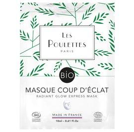 Masque Coup d'éclat - Les Poulettes - Visage