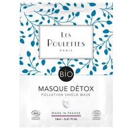 Pollution Shield Mask - Les Poulettes - Face