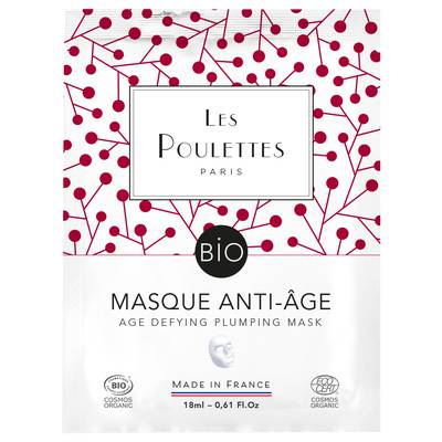 Age Defying Plumping Mask - Les Poulettes - Face