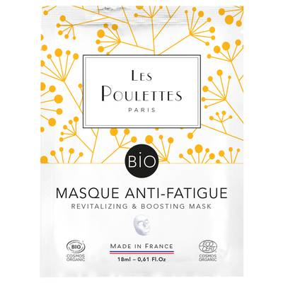 Revitalizing & boosting mask - Les Poulettes - Face