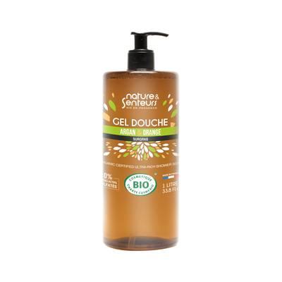 Gel Douche Argan & Orange - NATURE ET SENTEURS - Hygiène