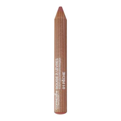 Crayon Rouge à lèvres 01 Pêche - Copines Line Paris Bio - Maquillage