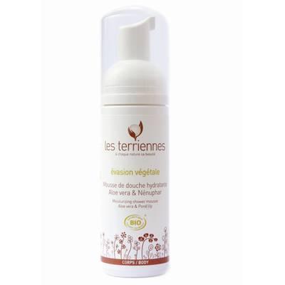 Evasion vegetale - moisturizing shower mousse - LES TERRIENNES - Hygiene