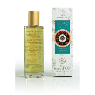 Care and massage shea body oil - Terre d'Oc - Body