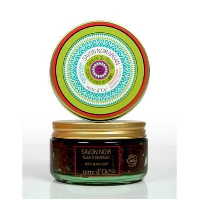 Argan black soap - Terre d'Oc - Hygiene